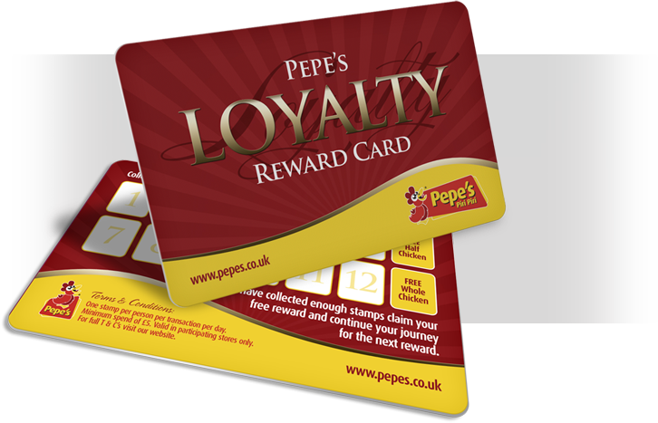 Pepe's Loyalty Card